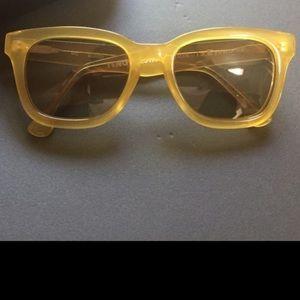 Tenoversix X LA Eyewear Yellow Sunglasses